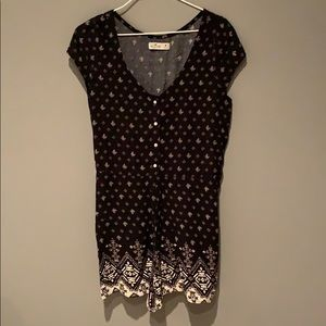 Patterned romper from Hollister. Size M.